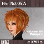 HairNo005_A_Pumpkin