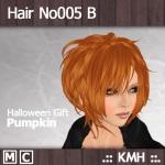 HairNo005_B_Pumpkin
