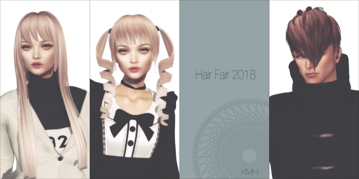 New Hair!! (at Hair Fair 2018)